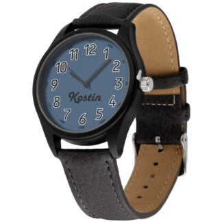 Именные наручные часы 22 черный