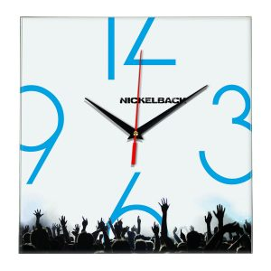 Nickelback настенные часы 8