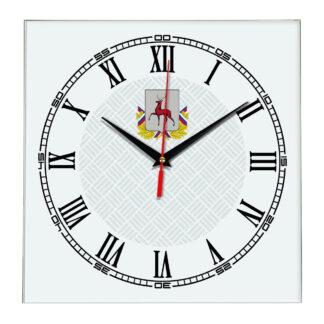 Сувенир настенные часы из стекла Нижний Новгород 17