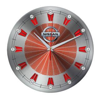настенные часы с символом Nissan 09
