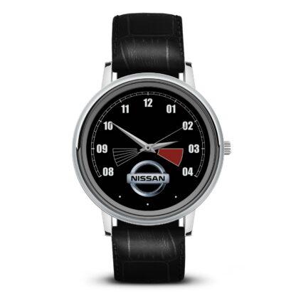 спидометр Nissan наручные часы с символикой
