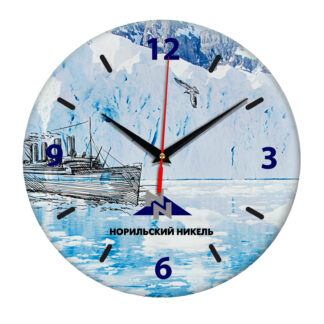 Настенные часы «norilskiq_nikel»
