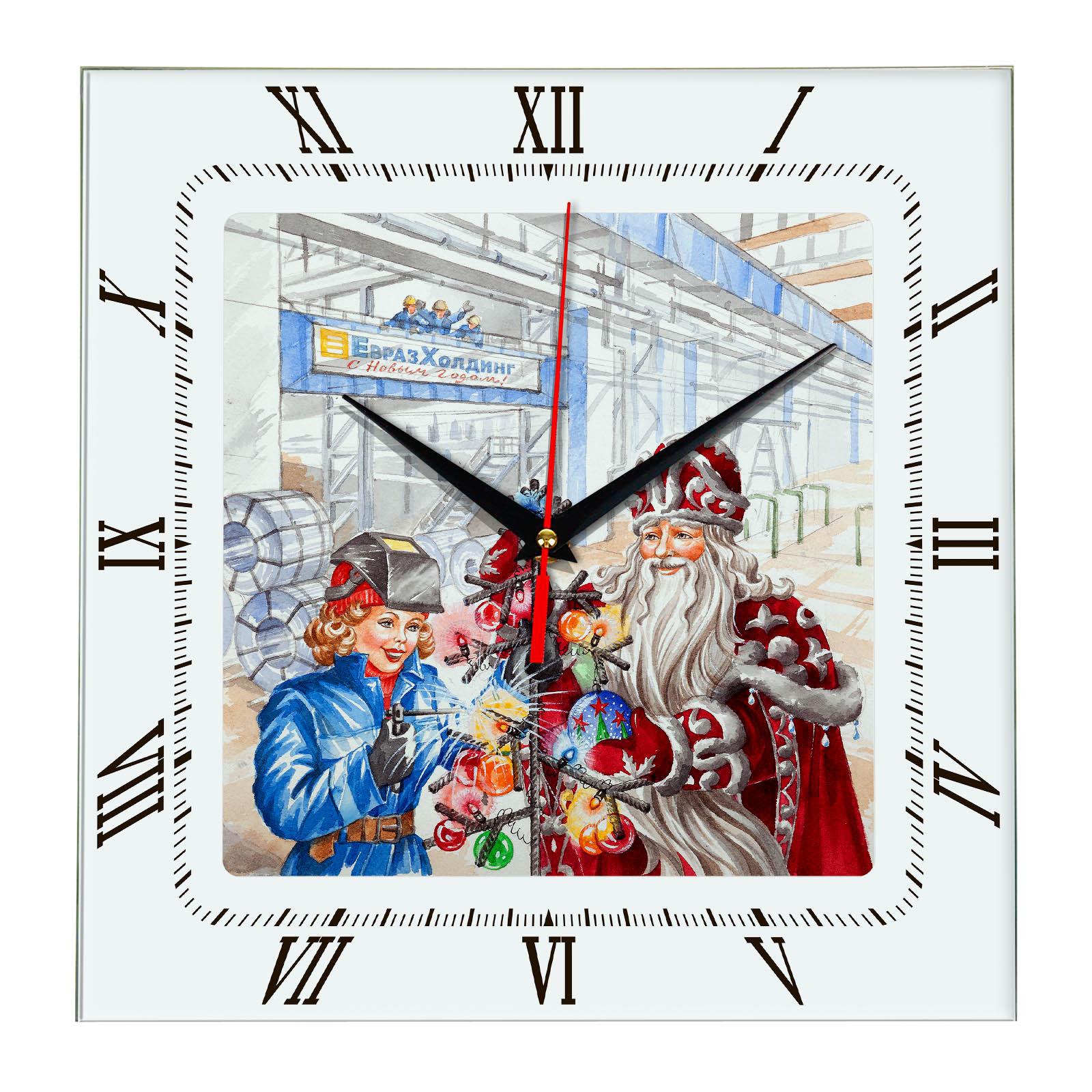 Корпоративные новогодние подарки ЕвразХолдинг 2018