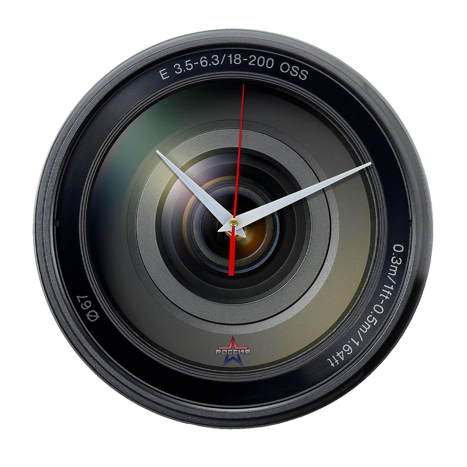 Настенные часы «obectiv1»