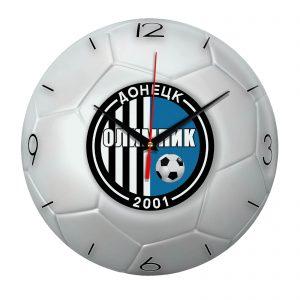 Настенные часы «Футбольный мяч Olimpik doneck»
