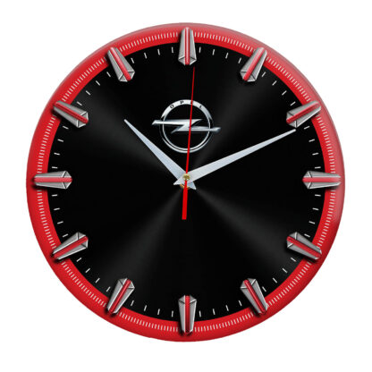 Настенные часы с рисками Opel 06
