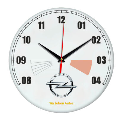 Настенные часы «opel белые»