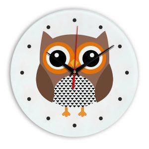 Настенные часы Филин owl-02-clock