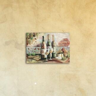 Фотокартина на стекле «Винный спас»