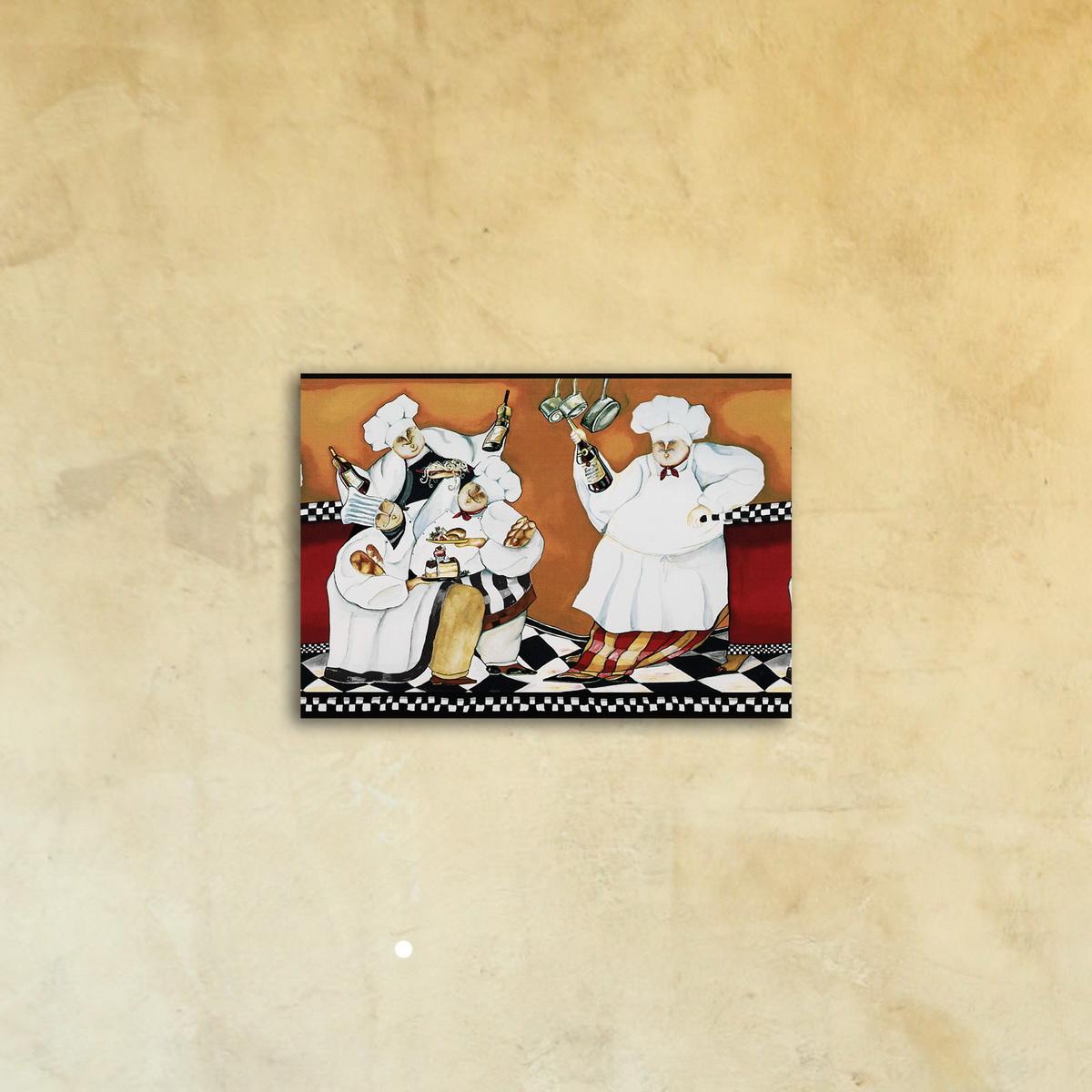 Фотокартина на стекле «Шеф повар»