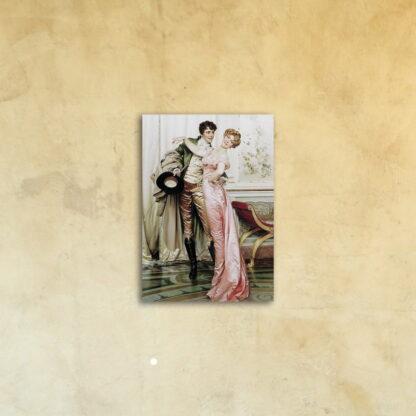Фотокартина «После бала» печать под стеклом