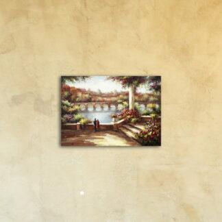 Картина на стекле «Сад Флоренции»