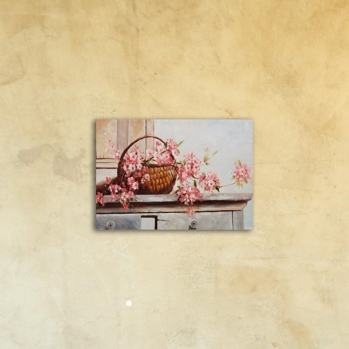 Картина на стекле «Ветка цветущей сакуры»