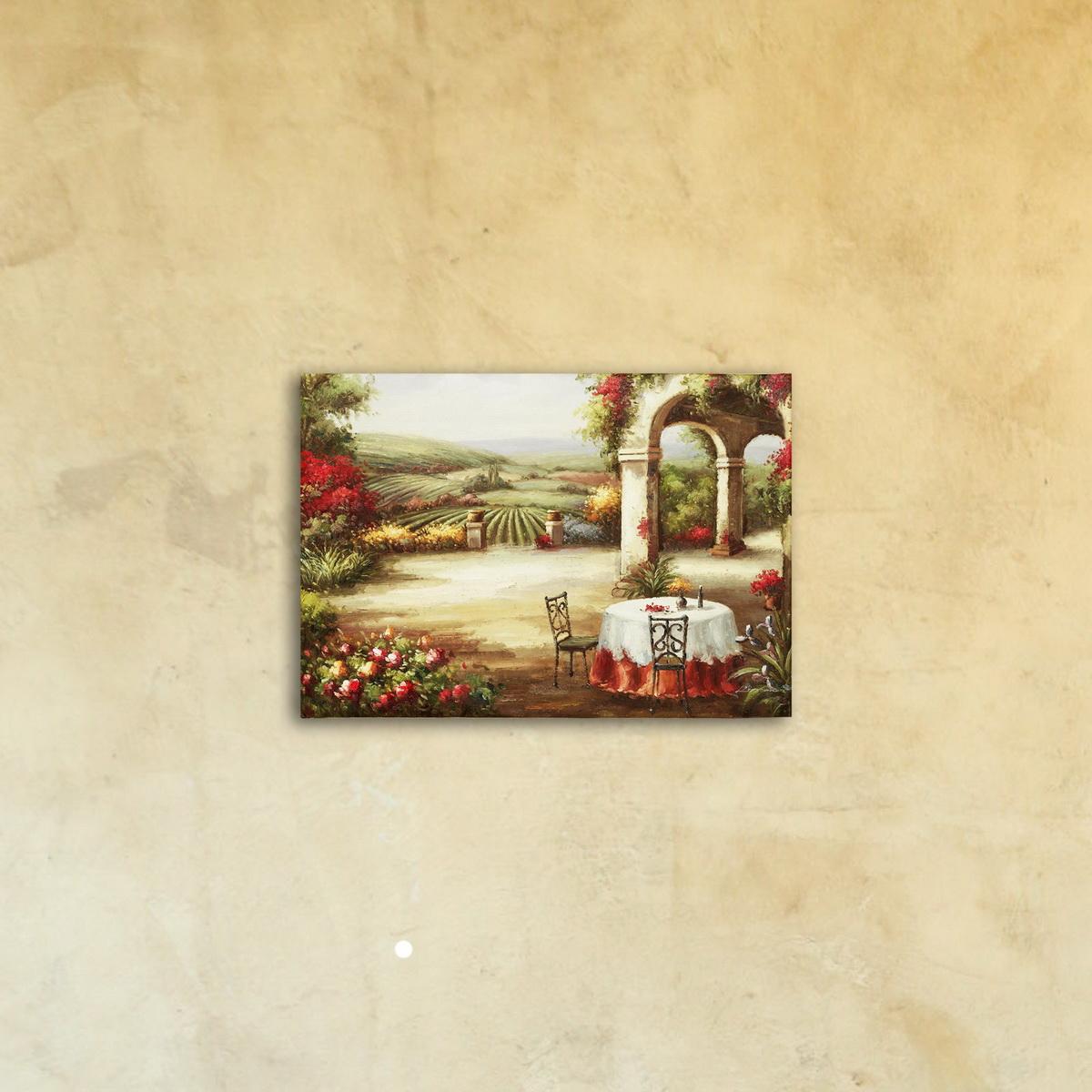Картина на стекле «Прованс»
