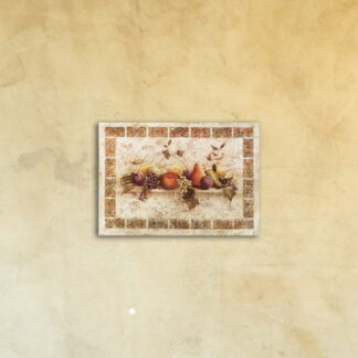 Картина на стекле «Натюрморт- фреска»