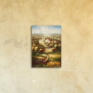 Картина на стекле «Просторы Европы»