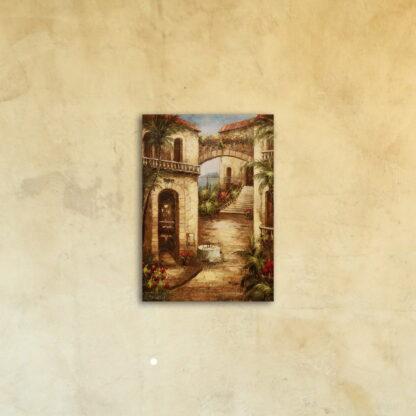 Картина на стекле «Старинные улицы Европы»