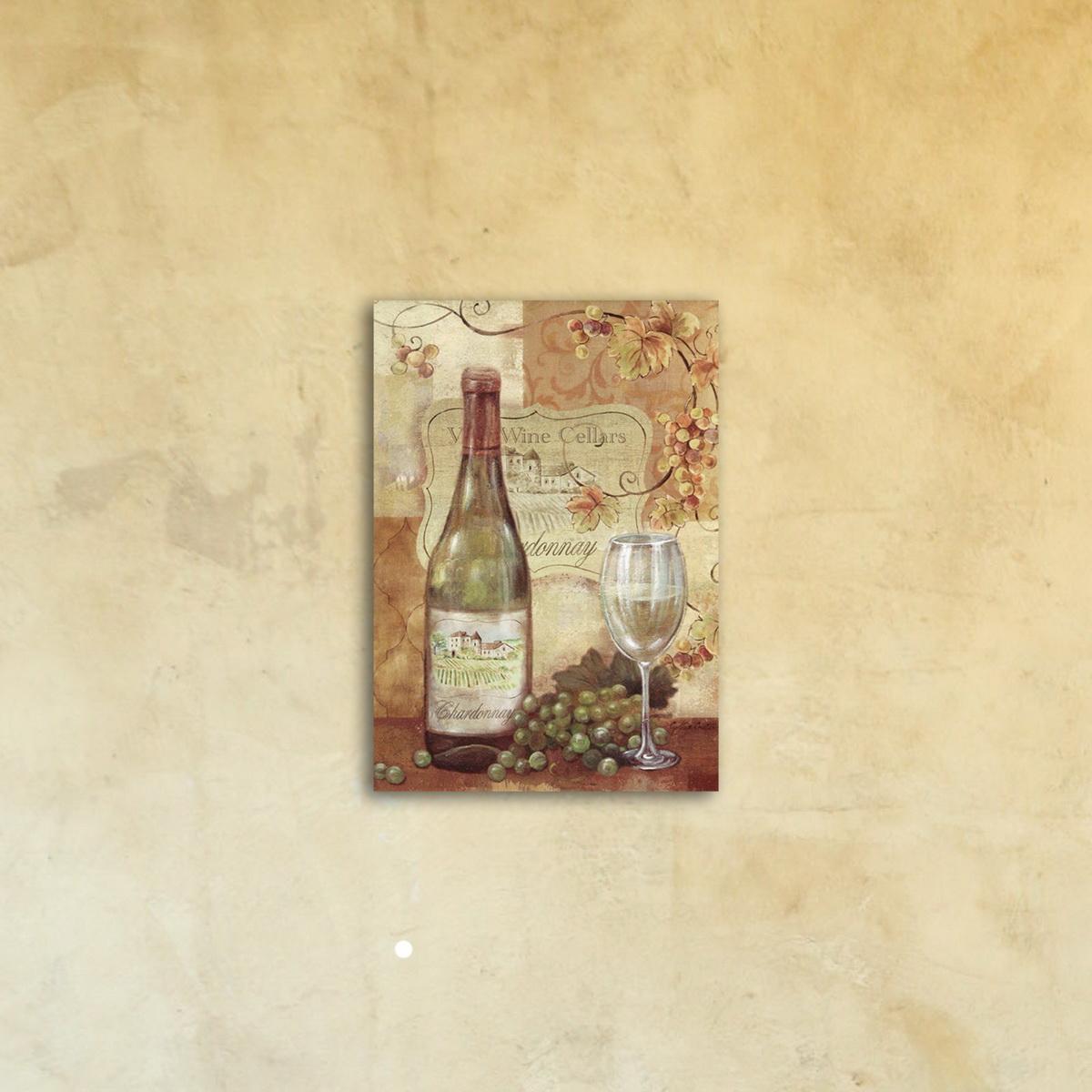 Картина на стекле «Дегустатор»