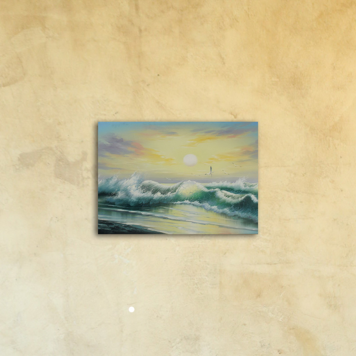 Картина на стекле «Прибой»