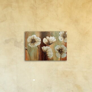 Картина на стекле «Нежность цветка»