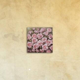 Картина на стекле «Чайная роза»
