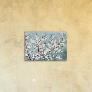 Картина на стекле «Цветущая вишня»