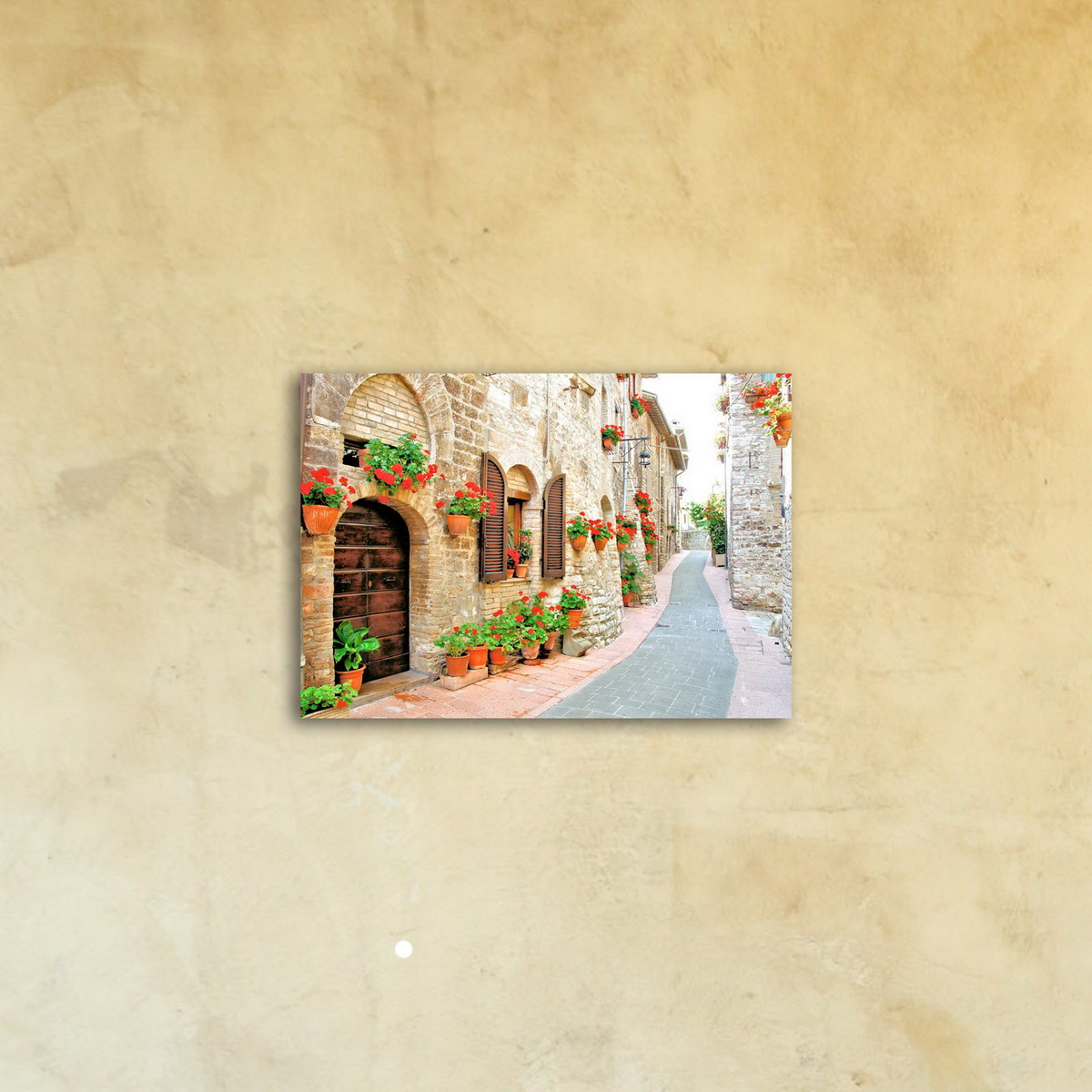 Картина на стекле «Дорога в верхний город»