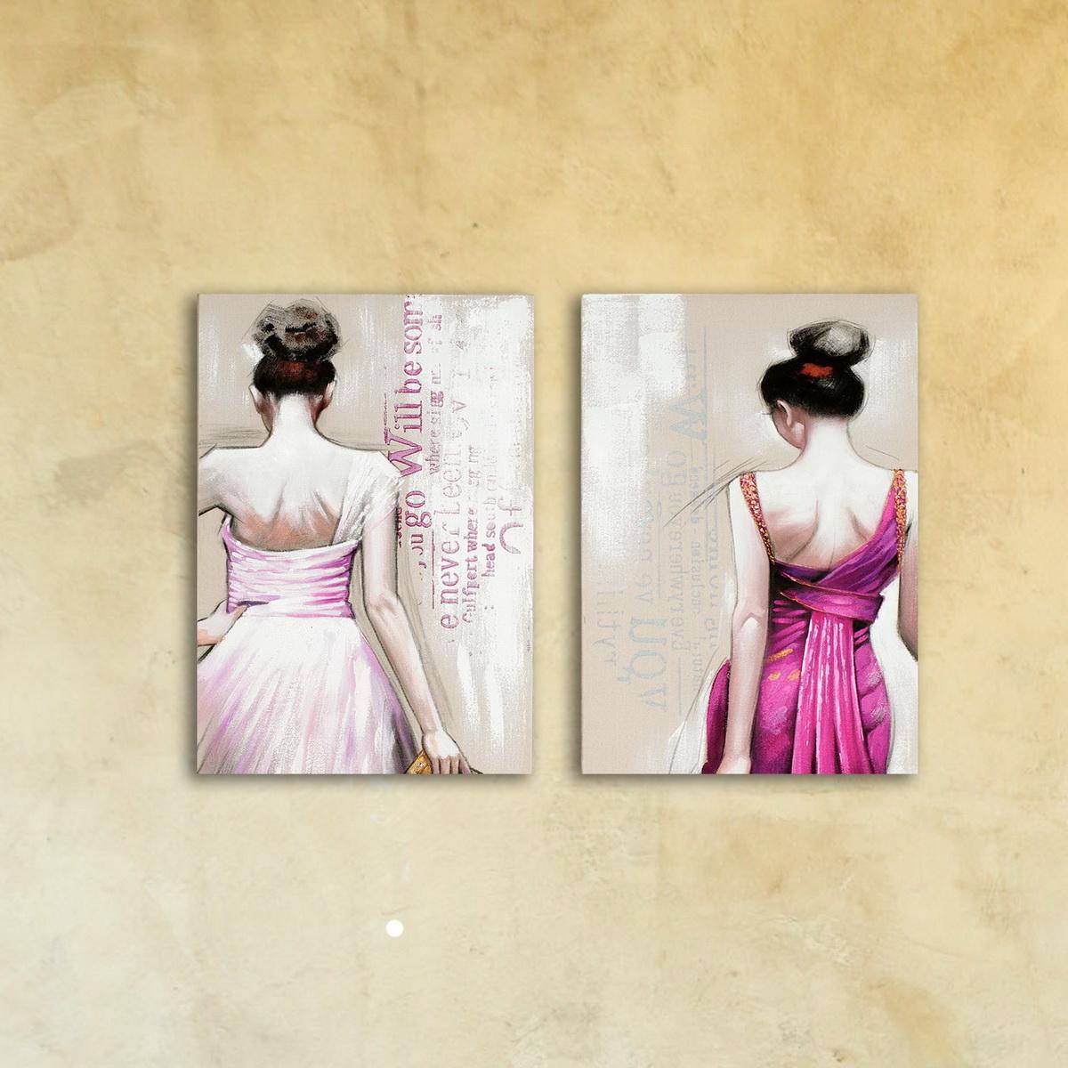 Модульная картина «Модницы»