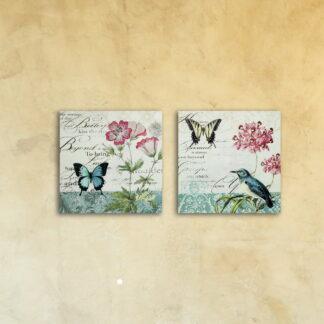 Модульная картина «Бабочки»