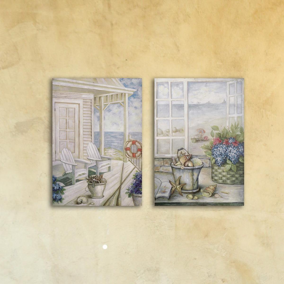 Модульная картина «Светлые окна»