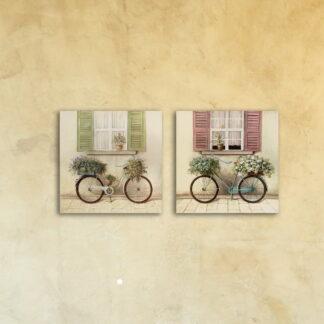 Модульная картина на стекле «Ты+Я»