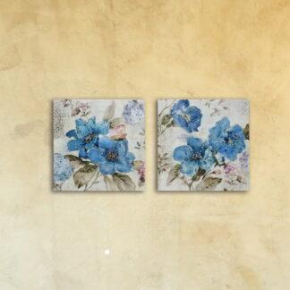 Модульная картина на стекле «Анютина»