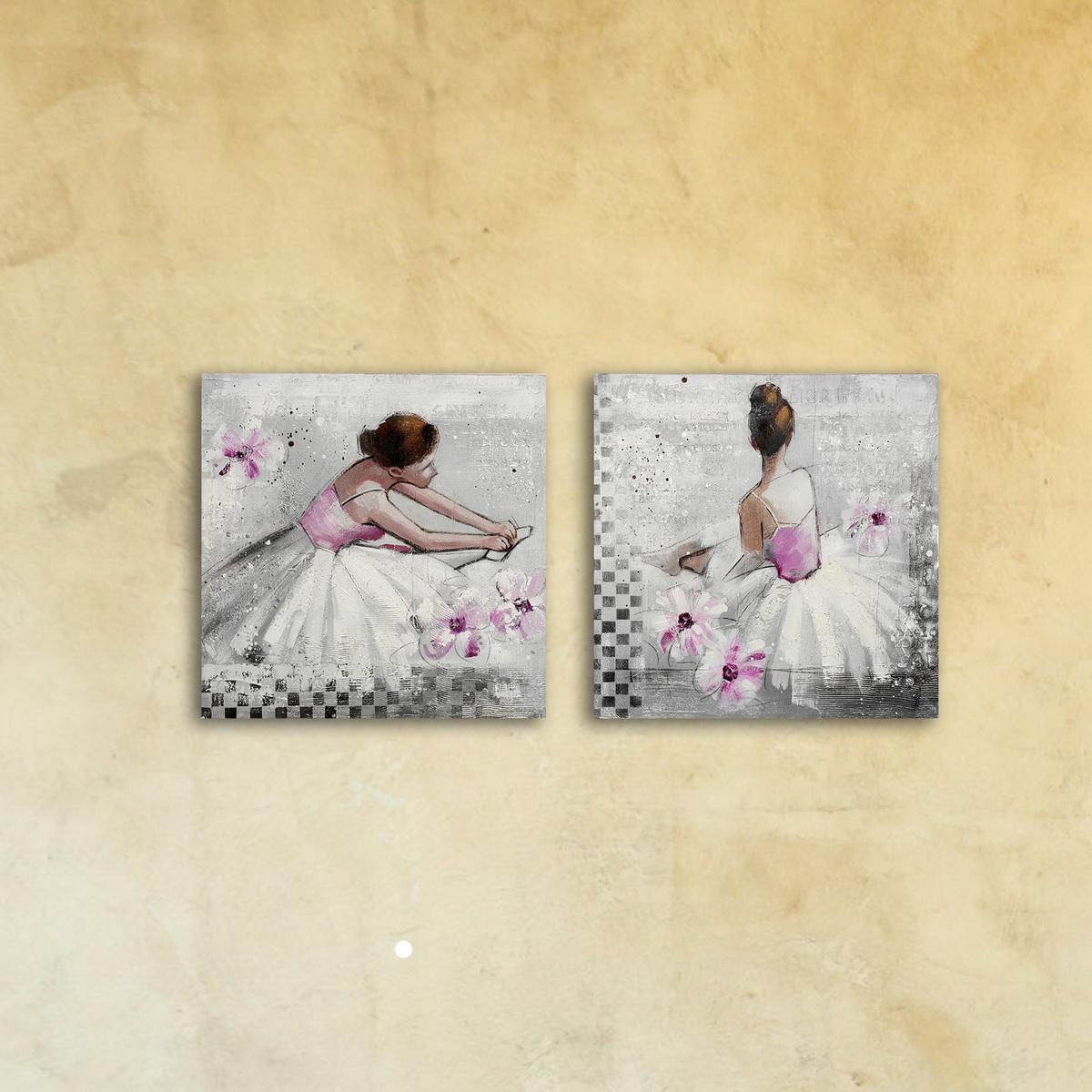 Модульная картина «Балерина»