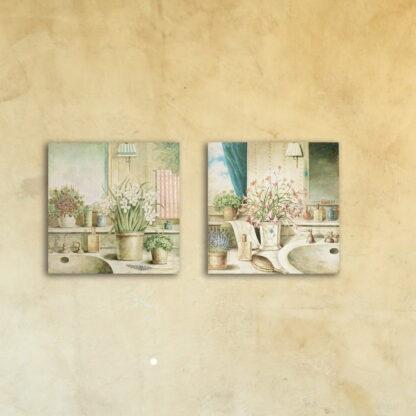 Модульная картина на стекле «Будуар чаровницы»