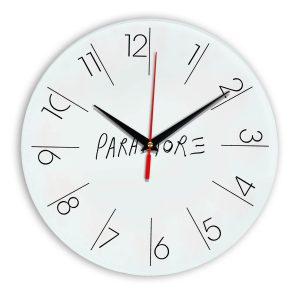 Paramore настенные часы 6