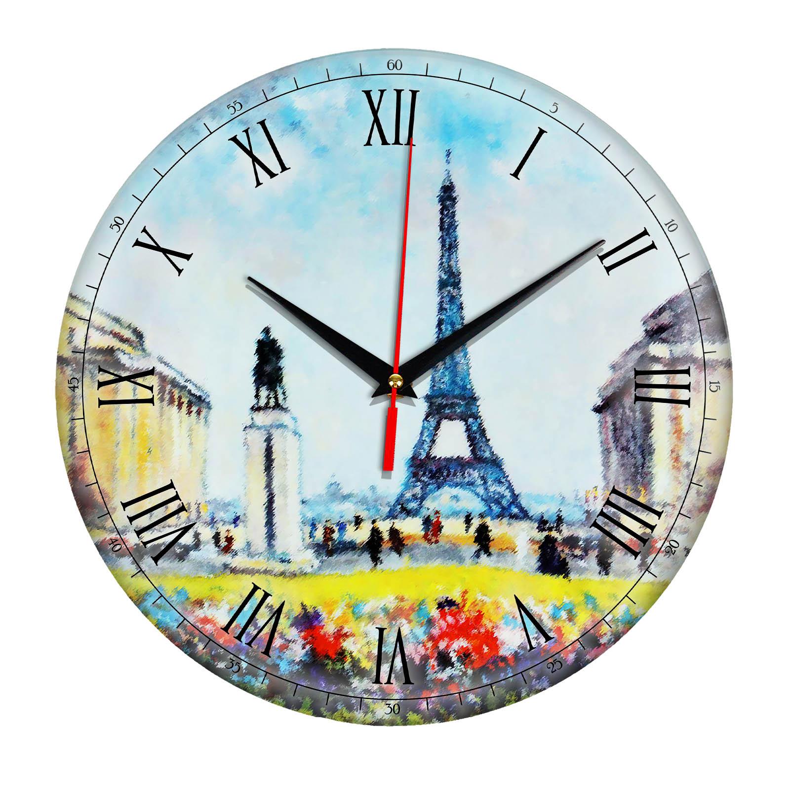 Часы настенные «Эйфелева башня»