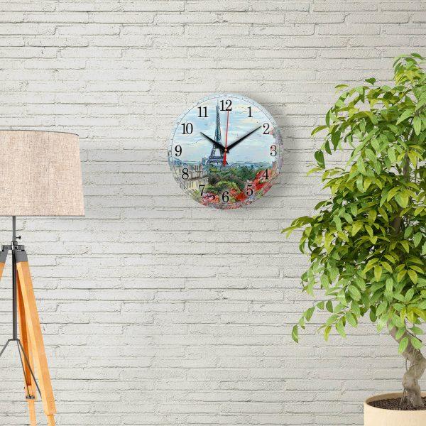 Часы настенные «Набросок Парижа»