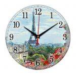 "Часы настенные ""Набросок Парижа"""