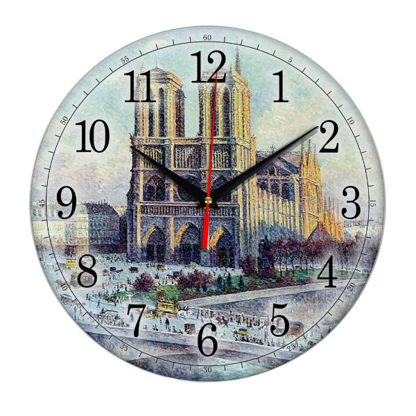 """Часы настенные """" Ретро Париж"""""""