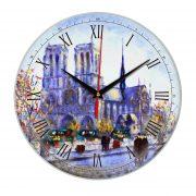 """Часы настенные """" Художественный Париж"""""""