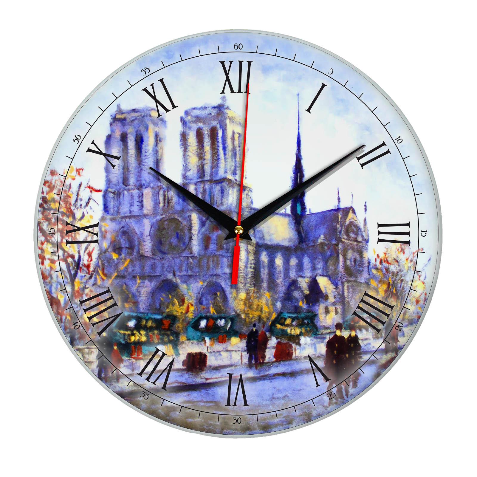 Часы настенные » Художественный Париж»