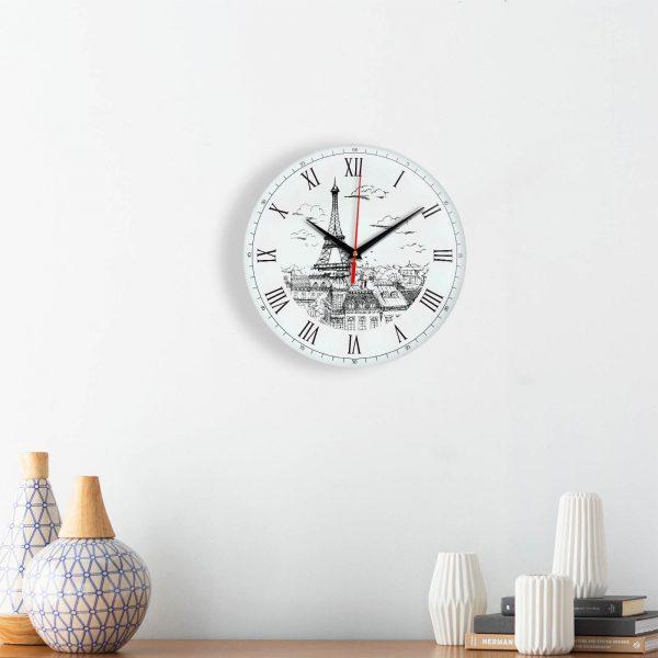 Часы настенные «Мост в Париже»