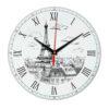 Часы настенные мост в Париже 10