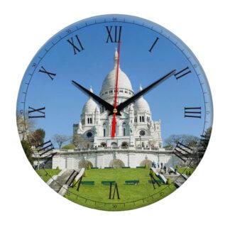 Часы настенные «Париж- Базилика Сакре-Кёр»