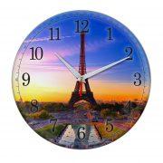 """Часы настенные """"Закат в Париже"""""""