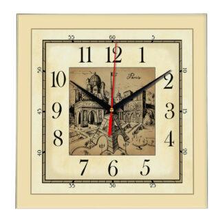 Часы настенные «Париж»