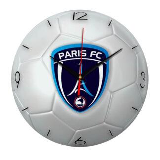 Настенные часы «Футбольный мяч Paris fc»