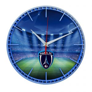 Настенные часы «Сувенир для фаната Paris fc»
