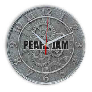 Pearl jam настенные часы 1