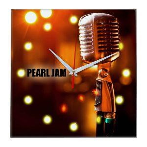 Pearl jam настенные часы 11